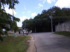Local: em frente ao nº 280 da Rua Madre Clelia Merloni ( ao lado da rua da cidadania).  (Foto: Sandro Nascimento)
