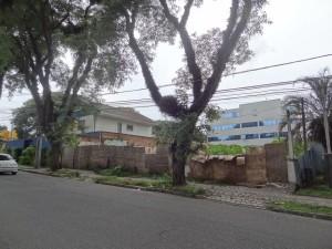 Local: R. Teixeira Soares, próximo ao nº 362, bairro Seminário. (foto: Lucas Prates)