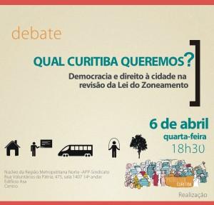 Debate Qual Curitiba queremos