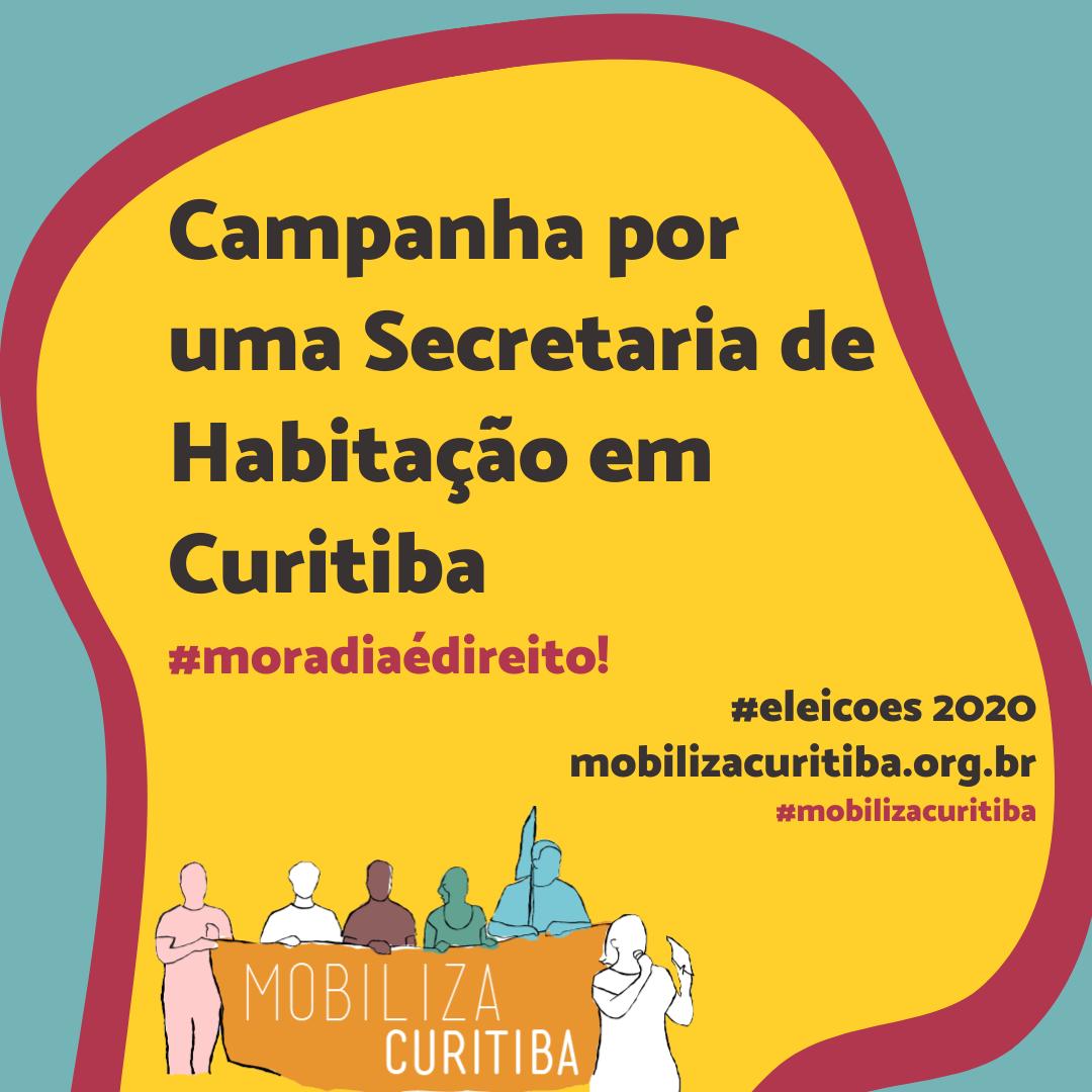 Campanha por uma Secretaria de Habitação